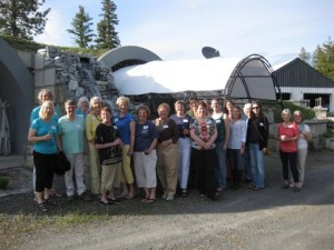 May 2014 AAUW meeting at Jane Conn's